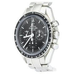 Vintage Authentic Omega Speedmaster 50th Anniversary Mechanical Watch SMALL