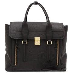 Vintage Authentic Phillip Lim Leather Large Pashli Satchel LARGE