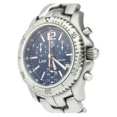 Vintage Authentic Tag Heuer Link Quartz Diver Watch CT1110 BA0550 SMALL
