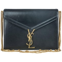 Vintage Authentic YSL Marceau Chain Shoulder Bag w Dust Bag Authenticity Card
