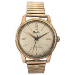Vintage Automatic MuDu 30 Jewels Wristwatch