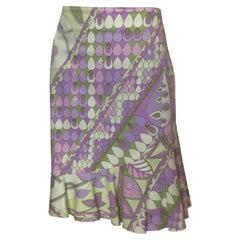 Vintage Averardo Bessi Cotton Summer Skirt
