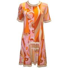 Vintage Averardo Bessi Silk Jersey Dress