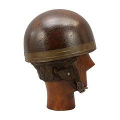 Vintage Aviakit Trackstar Motorcycle Helmet, Acu Pattern