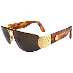 Vintage aviator sunglasses by Egon von Furstenberg, Italy 1980s