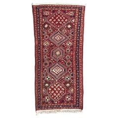 Vintage Azerbaijan Shahsavand Flat Rug