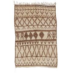 Vintage Azilal Moroccan Berber Rug