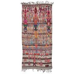 Vintage Azilal Flat-Weave Moroccan Kilim