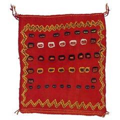 Vintage Baby Cradle Tribal Rug