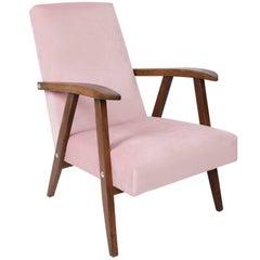Vintage Baby Pink VAR Armchair, 1960s