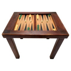 Vintage Backgammon Table