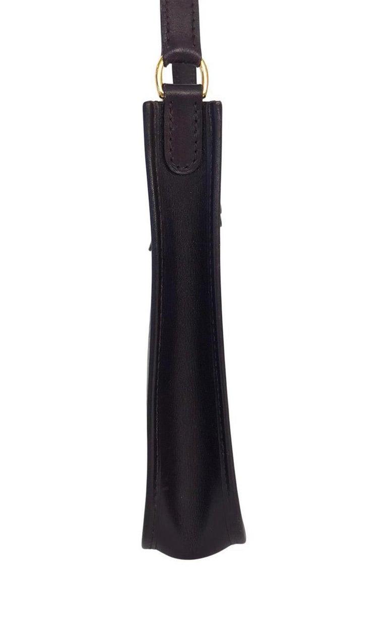 Women's Vintage Bag  Hermès Evelyne TPM in Amarante colored leather For Sale