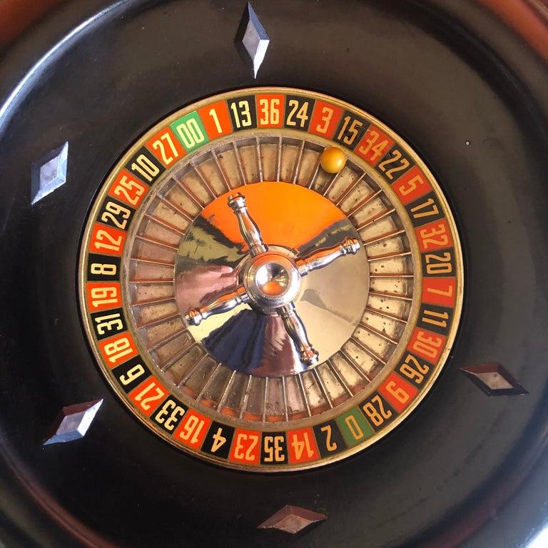 Vintage Bakelite Roulette Wheel by Rottgames For Sale 5