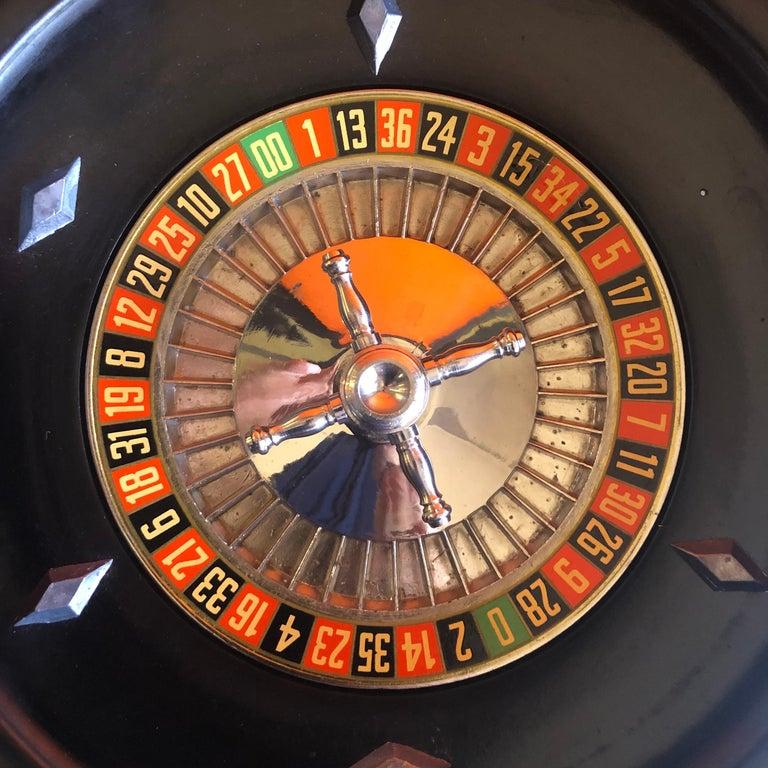 American Vintage Bakelite Roulette Wheel by Rottgames For Sale