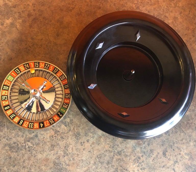 Vintage Bakelite Roulette Wheel by Rottgames For Sale 1