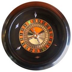 Vintage Bakelite Roulette Wheel by Rottgames