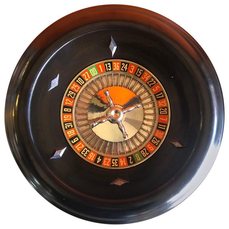 Vintage Bakelite Roulette Wheel by Rottgames For Sale