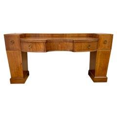 Vintage Baker Furniture Mahogany Credenza Sideboard Buffet
