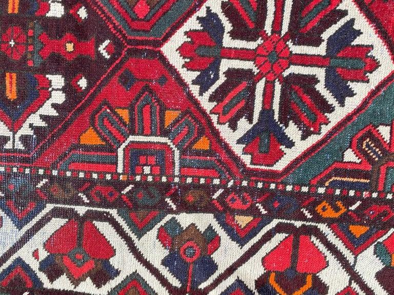 Vintage Bakhtiar Used Rug For Sale 3