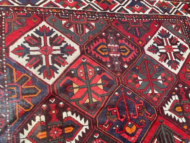 Vintage Bakhtiar Used Rug For Sale 4