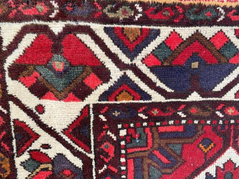 Vintage Bakhtiar Used Rug For Sale 5