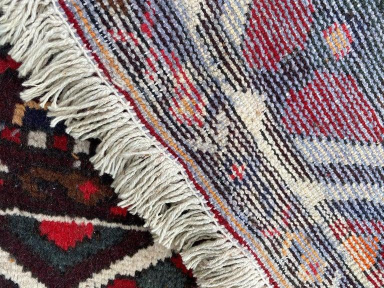 Vintage Bakhtiar Used Rug For Sale 6