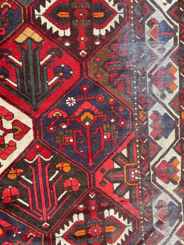 Vintage Bakhtiar Used Rug For Sale 7