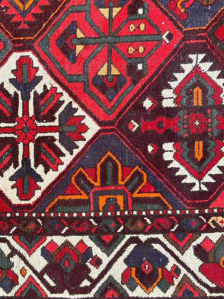 Asian Vintage Bakhtiar Used Rug For Sale