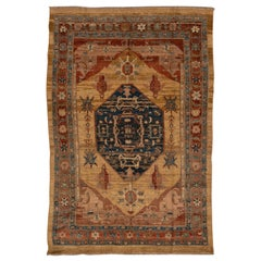 Vintage Bakshaish Tribal Wool Rug