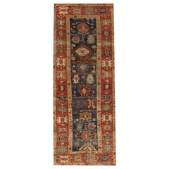 Vintage Bakshaish Tribal Wool Runner Rug
