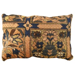 Vintage Persian Baktiari Decorative Oriental Rug Pillow