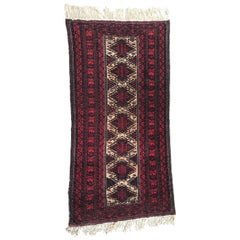 Vintage Baluch Afghan Rug
