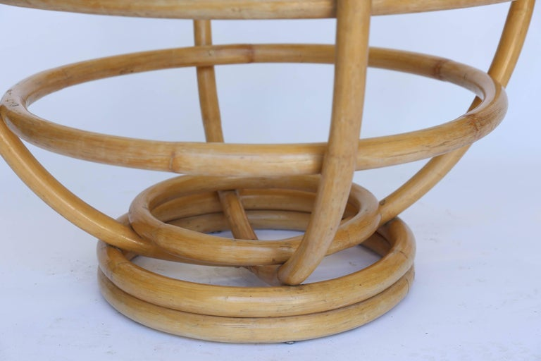 American Vintage Bamboo Coffee Table For