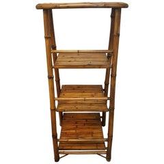 Vintage Bamboo Stand/Shelf