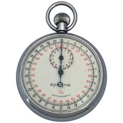 Vintage Base Metal Cased Mechanical Stopwatch