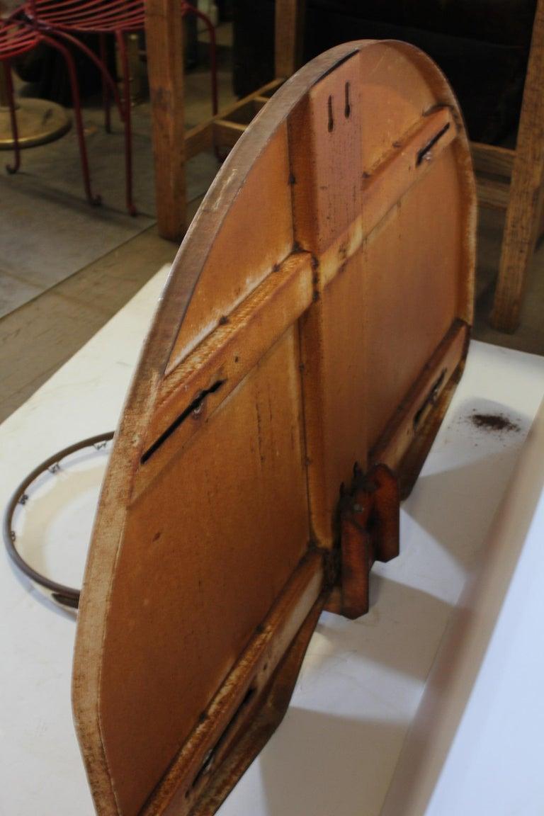 Sporting Art Vintage Basketball Backboard and Hoop For Sale
