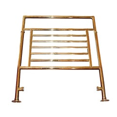 Vintage Bathroom Towel Warmer in Gold by Myson