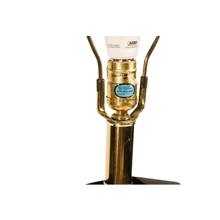 Brass Vintage Bauer Floor Lamp For Sale