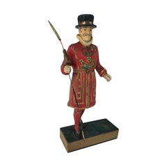 Vintage Beefeaters Gin Bar Display Advertisement Figurine
