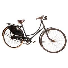 Vintage Belgian Bicycle with Fender Skirt