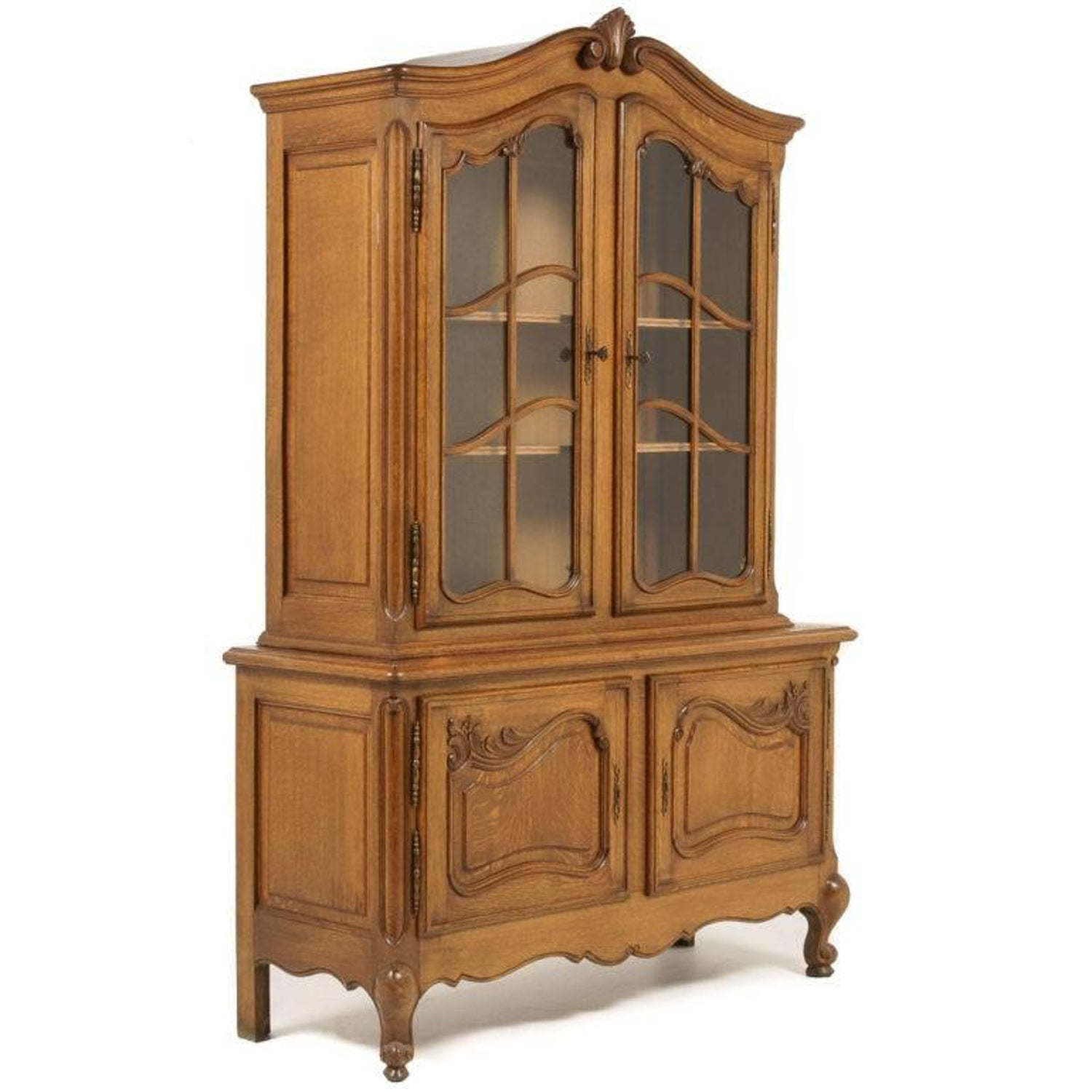 - Vintage Belgian Oak China Cabinet For Sale At 1stdibs