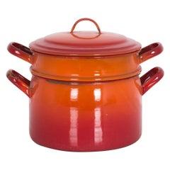 Vintage Belgian Steaming Pot