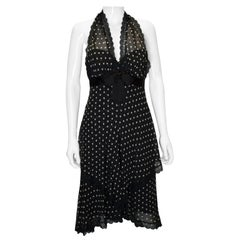 Vintage Bellville Sassoon/ Lorcan Mullany Silk Spotty Dress