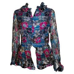Vintage Belville Sassoon Silk Blouse