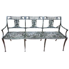 Vintage Bench by Molla of Diana the Huntress