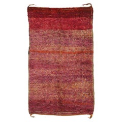 Vintage Beni M'Guild Moroccan Rug with Modern Bohemian Tribal Style