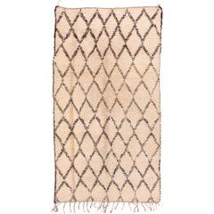 Vintage Beni Ourain Moroccan Carpet
