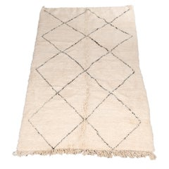 Vintage Beni Ourain Rug Hand Picked from Morocco