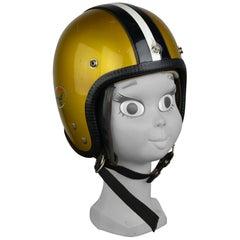 Vintage Benor Motorbike Helmet, 1960s, Belgium