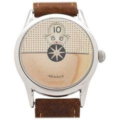 "Vintage Benrus Digital Jump Hour ""Dial-o-rama"" Wristwatch, 1958"